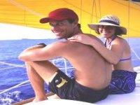Nuove amicizie in barca a vela
