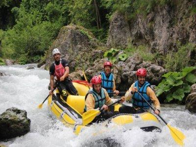 Rafting nel fiume Lao 1 ora