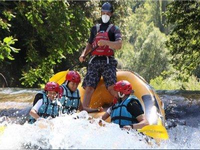 Rafting nel fiume Lao per bambini 1 ora