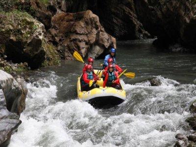 Rafting sul Fiume Lao con pranzo 5 ore