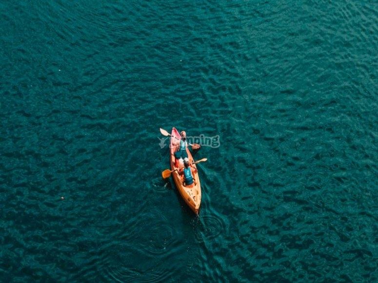Double kayak rental