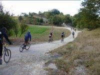 Mountain bike in Umbria