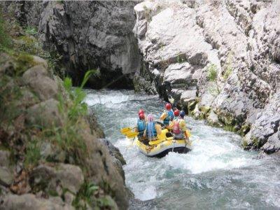 Rafting nelle Gole del Lao di 3 ore