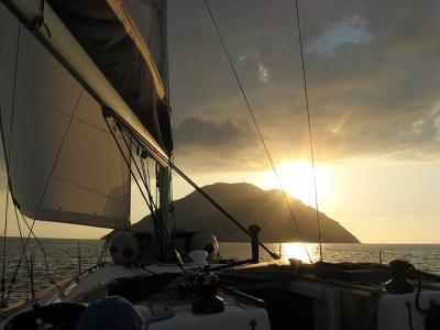 Crociera per sigle Isole Eolie 18 agosto