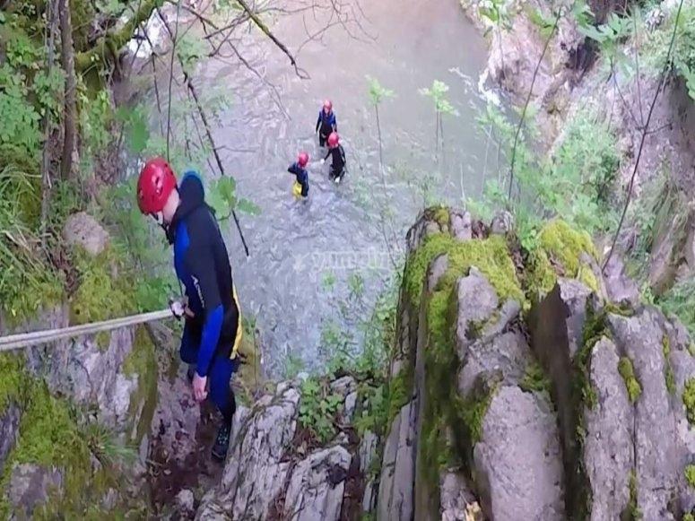 Descending on the Iannello stream