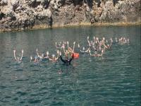 Isola Bella snorkeling excursion for children 2h30