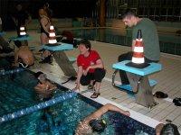 Le lezioni in piscina