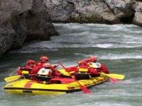 Rafting con i colleghi
