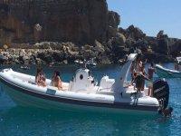 Location de dériveur avec permis à Otranto 8 heures