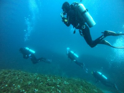 Open Water Course 8 dives at 18 meters in Taormina