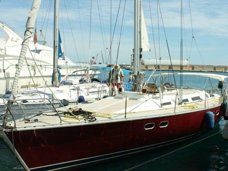 la barca in porto