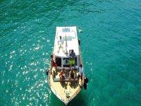 Noleggio barca con patente Costa Argentario 8H