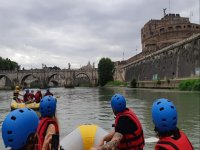 Rafting on the Tiber river for 2 hours