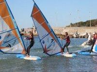 Lezione collettiva di Windsurf