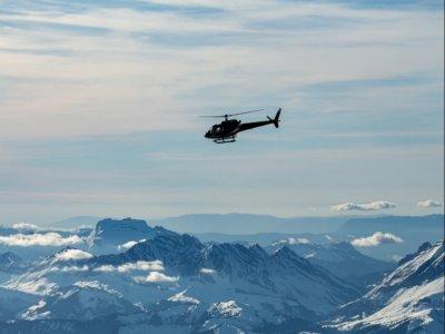Volo in elicottero sulle Dolomiti di Brenta 10 min