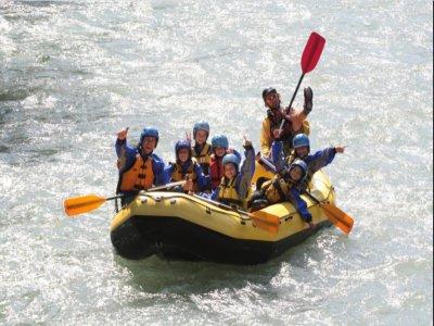 Rafting nel fiume Noce per bambini 2 ore