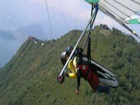 Two-seater in hang glider