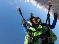 Volo in Parapendio sulle Dolomiti di Brenta 20 min