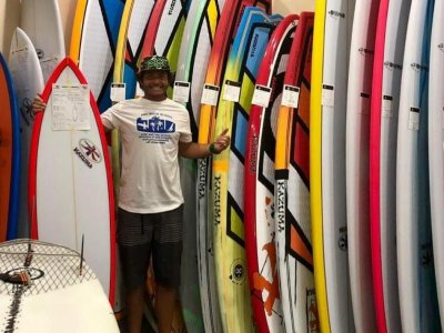 Surf rental in Catania for a day