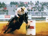 Gareggiando a cavallo