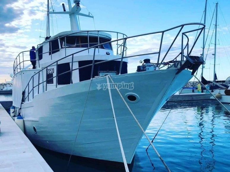 our motor ship awaits you