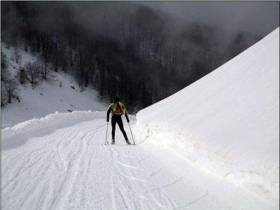 Tour Sci Nordico Molise Baita la Gallinola