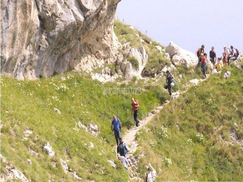 Trekking sulle vie della transumanza