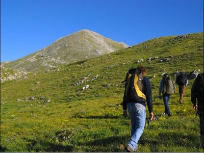 Trekking in Molise. Monte Miletto