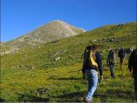 Trekking in Molise. Monte Miletto