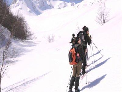 Snowshoeing in Passo dei Monaci Molise