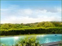La piscina de La Villa