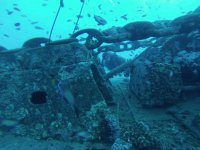 Submerged wreck