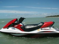 Motorbike for rent water