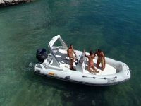 Experience in dinghy