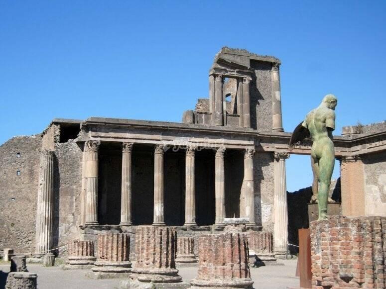 history of Pompeii