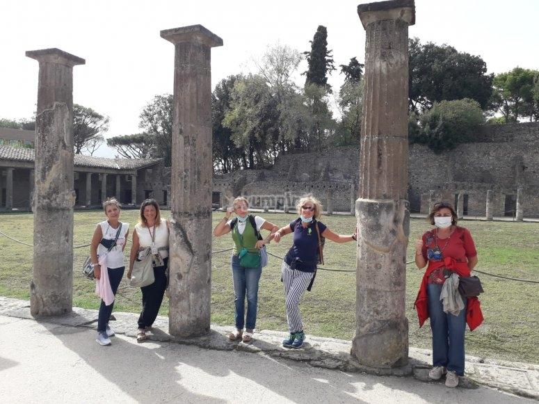 visiting group
