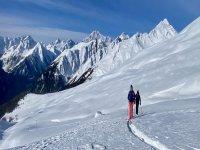 Ski alpinisme à Courmayeur pendant 4 heures