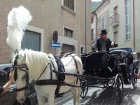 In carrozza!