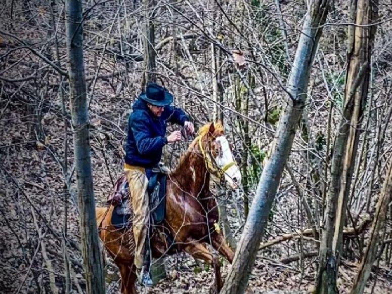 riding near turin