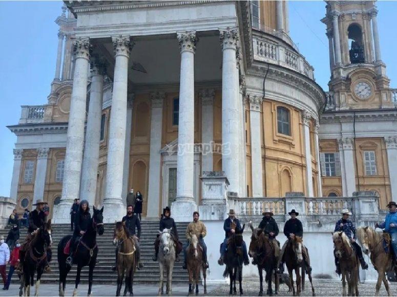 horses in carignano