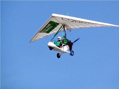 Deltaplane motorisé sur le lac de Garde pendant 20 minutes