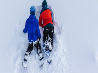 Snowshoeing for children to the mines of Thuile 2h