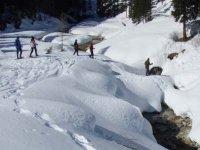 Ciaspolando a Cortina d Ampezzo