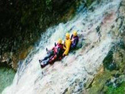 Cortina Adrenalin Center Canyoning