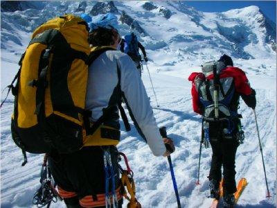 Ski touring base in La Thuile full day