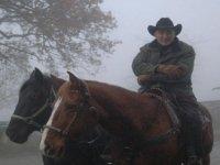 A cavallo col freddo