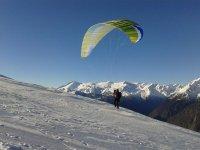Parapendio sulle Dolomiti