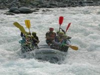 Rafting on the Sesia
