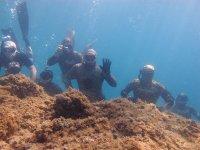 Gruppo in immersione