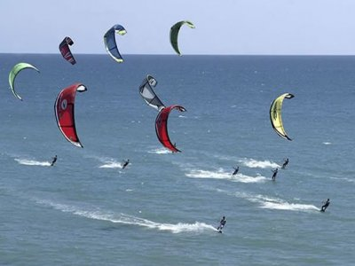 Sport Estremo Kitesurf